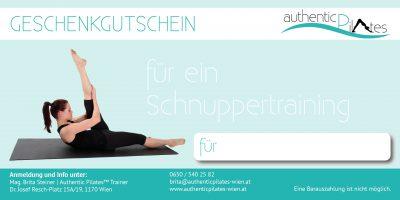 Gutschein Pilates